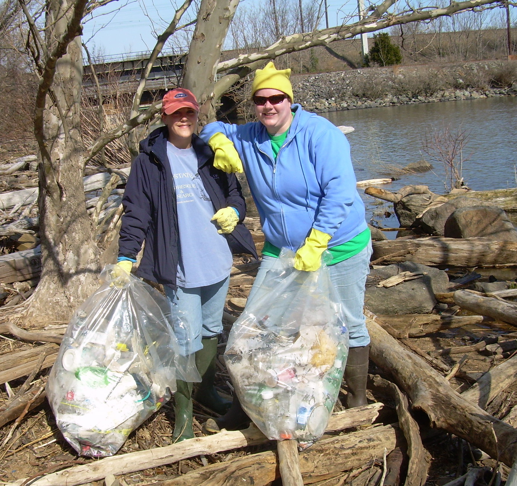 Fox Point Cleanup Volunteers